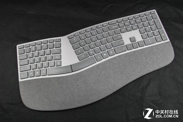 微软全新人体工学键盘:988元薄膜轴