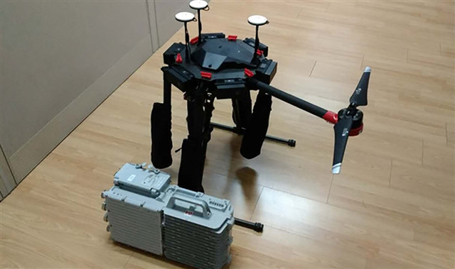 中兴用无人机装载4G基站 救援现场靠它了