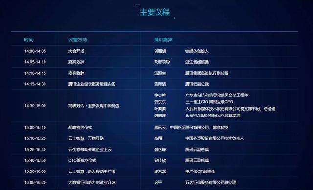 中国制造业大佬齐聚杭州 腾讯云掀起风云巨变