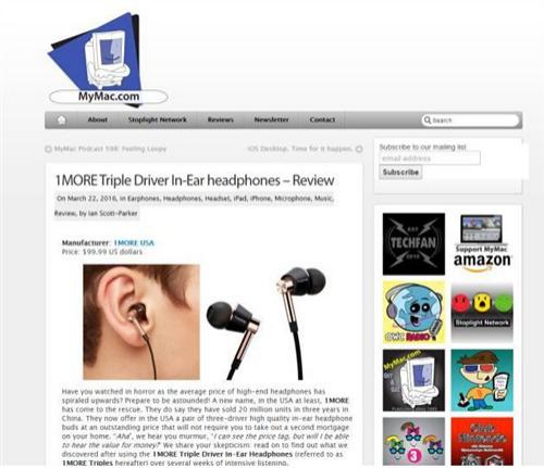1MORE耳机成为美国耳机市场父亲黑马