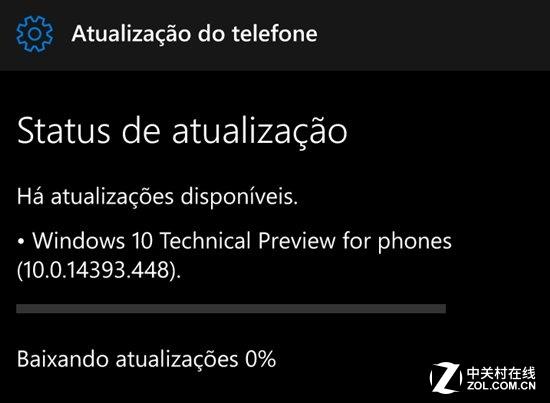 Windows 10 Mobile Build 14393.448发布