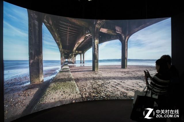 IFC2017:索尼激光投影让8K全息AR触手可及