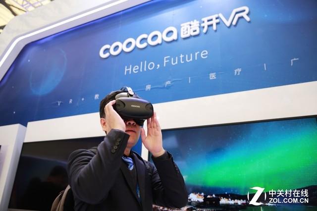 随意门引大量粉丝 酷开VR产品迈向新高度