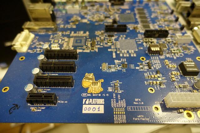 多图 战斗民族自主研发处理器Baikal-T1