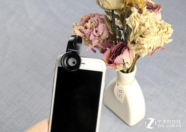 磅礴视角:摩米士5合1精英手机镜头评测