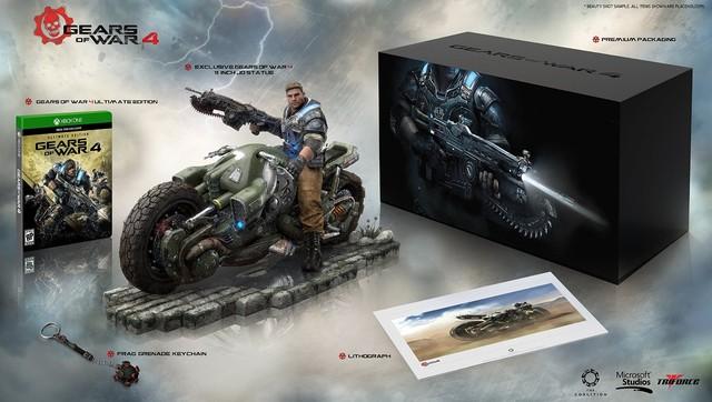 战争机器4收藏版与终极版登陆亚马逊