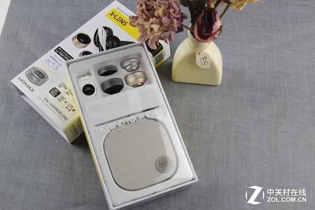 新视角:评摩米士5合1精英手机镜头套装