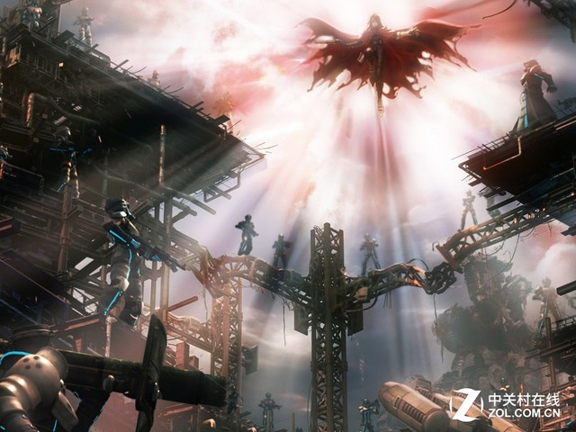 最终幻想15上映 显示器带你边看边玩!