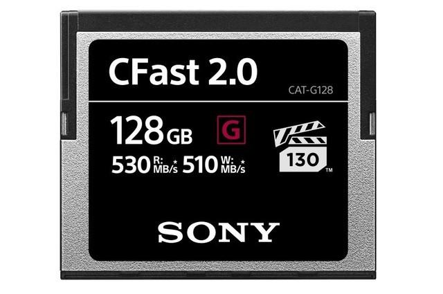 索尼发布G系列全新CFast存储卡 直追SSD