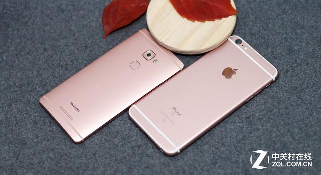 凭什么卖4K+? 华为Mate S战iPhone6S P