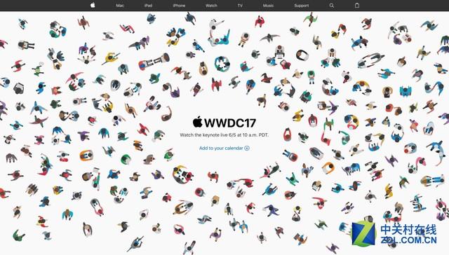 WWDC 2017直播时间公布 6月6日凌晨1点