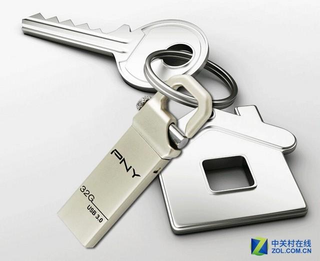独特设计 PNY USB3.0银虎克京东促销