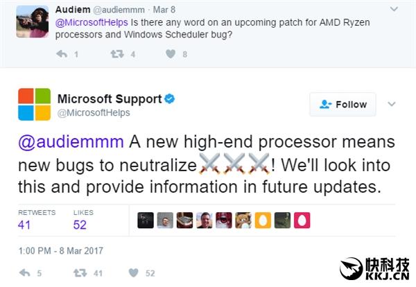 坑残AMD Ryzen 微软承认 :是Win10的锅