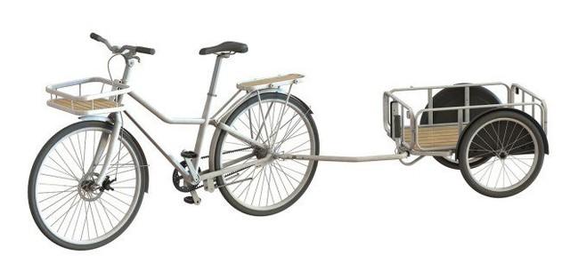 城会玩 无链条单车男女老少轻松骑行图片