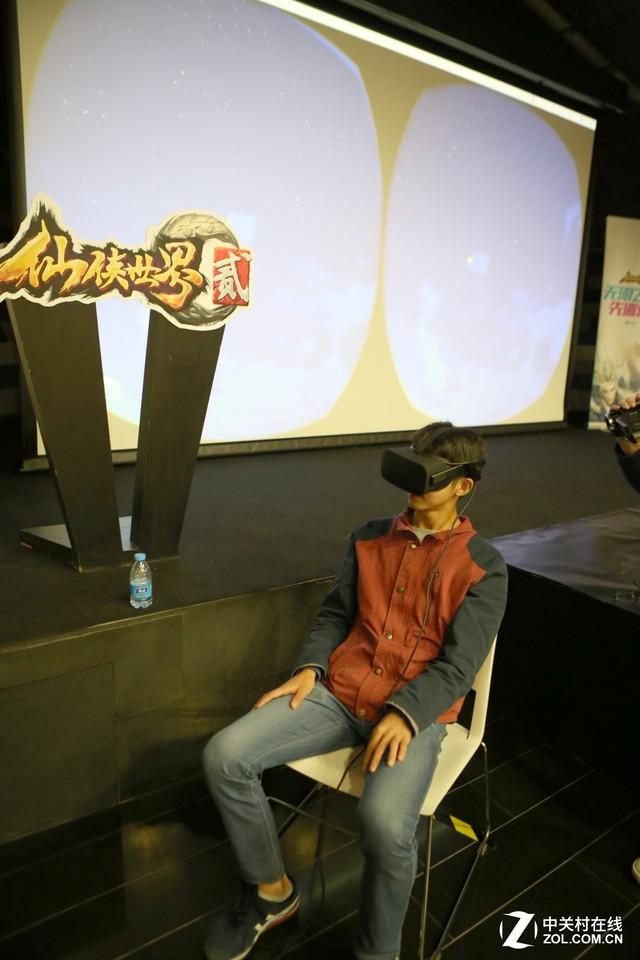探秘《仙侠世界2》 VR体验4K超清画面