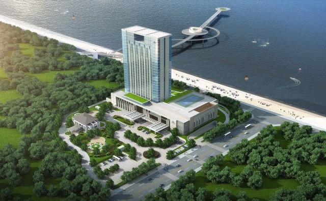 LG酒店电视入驻烟台希尔顿,邀您共享海岸新体验