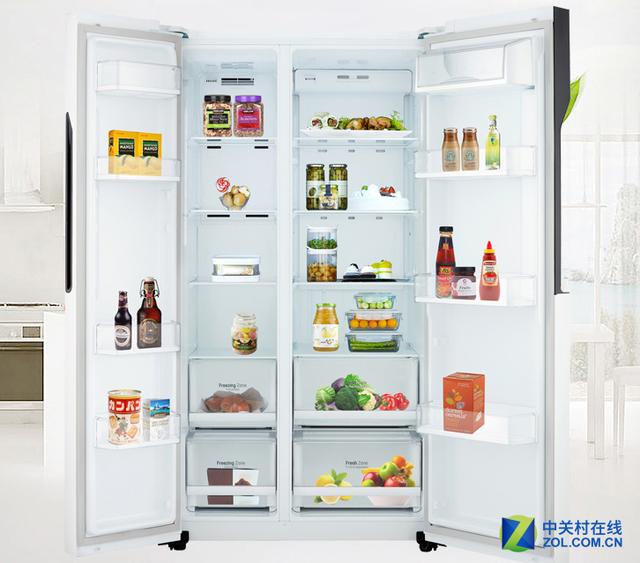 今日超值:LG对开门冰箱下满减只需5299