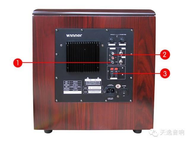 """如果你所选择的功放没有内置解码器,也就是说你必须依赖于DVD机的解码器解码输出超低频信号,那你就可以将此超低频信号从蓝光碟机或AV功放的超低频输出端直接输入到低音炮的SUB输入端?就可以了。这种接法依赖于蓝光碟机或AV功放的""""杜比/DTS""""解码器,因此只有当音源本身录制有超低频信号并输出时,低音炮才会有声音发出;播放CD碟是不会有声音输出的。   第二种:   如果你所选择的功放内置有解码器,此时您的蓝光碟机输出是利用光纤输入到功放,并依赖于功放内置的""""杜比数字/DTS"""