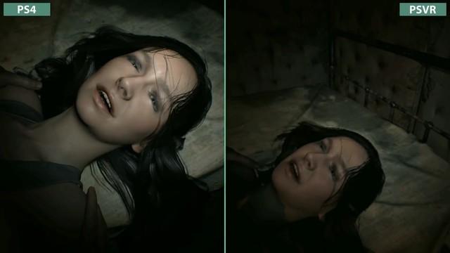 PSVR版《生化危机7》 画面到底有多糊?