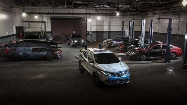 星战特别版 日产带来6款时尚套件车型