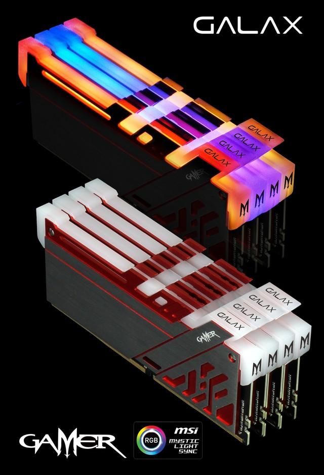 天生夺目 影驰GAMER Ⅲ代极光RGB内存上市