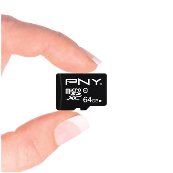 大容量多存储 元旦庆功PNY TF存储卡陪在身侧
