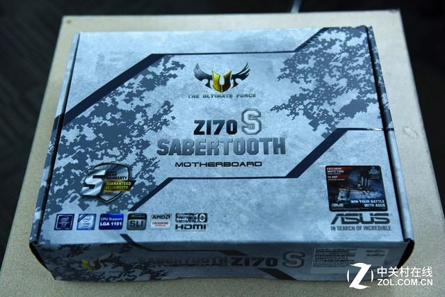 吾王之牙? 华硕Sabertooth Z170S评测