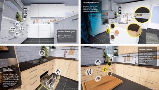 家装必修课 用VR去体验厨房装修效果