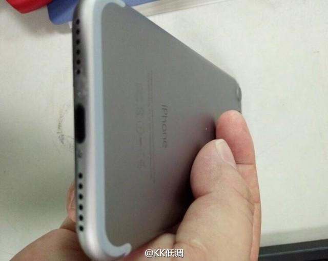 iPhone 7谍照再曝 摄像头突起很明显