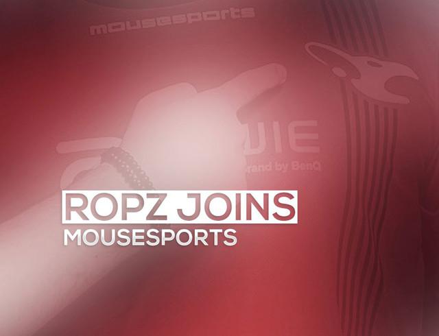 再度换阵容 ropz加入德国mousesports
