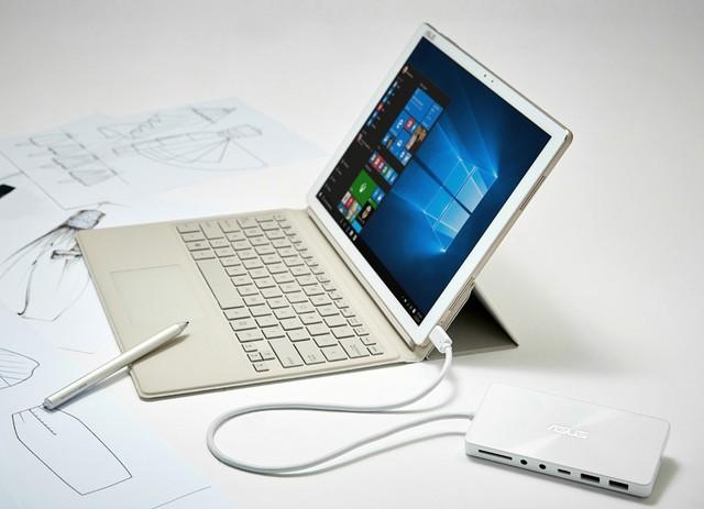 华硕灵焕3 Pro二合一平板打造专属风格