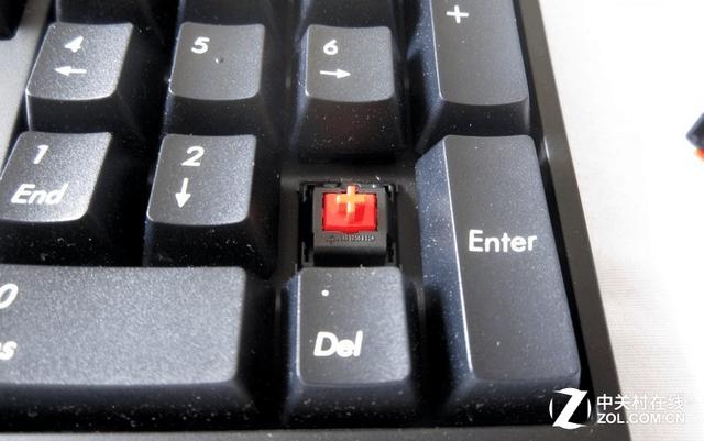 红得发紫 新贵GM500红轴机械键盘499元