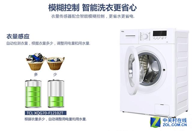 tcl洗衣机 专业洗护_tcl xqg70-f12102tb_家电家电