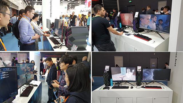 TCL显示器携速8共赴香港春季电子展!