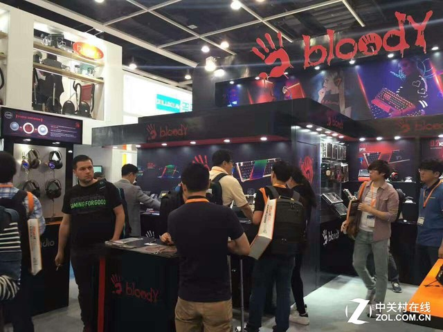 Bloody血手幽灵闪耀香港环球资源电子展