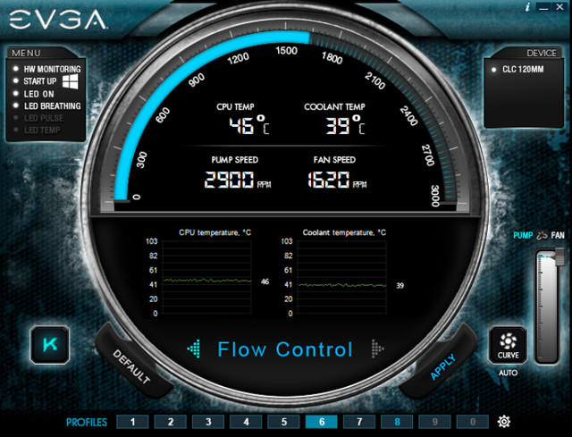 RGB信仰可同步 EVGA推出CLC水冷散热器