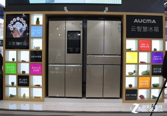 家中的食材管家!AWE冰箱全面普及智能化