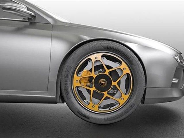 大陆首款电动车概念车轮 采用轻量化铝材_汽车科技