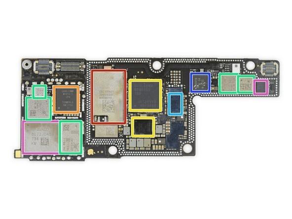 苹果4主板充电控制电路线路图