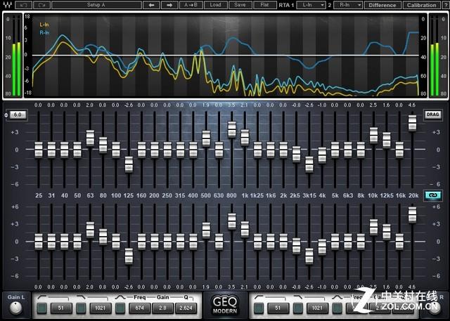 7段均衡器重低音调节图电路图