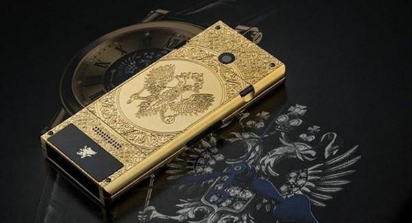 纯金宝石俄式风情 售价3万却还是功能机