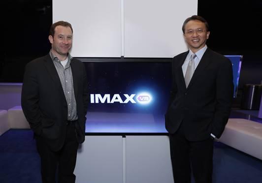 宏碁全球总裁陈俊圣造访IMAX VR体验中心