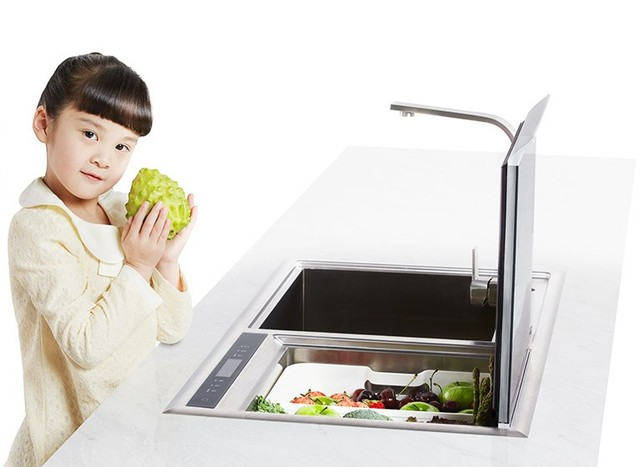还没有全自动洗碗机 你得有多OUT