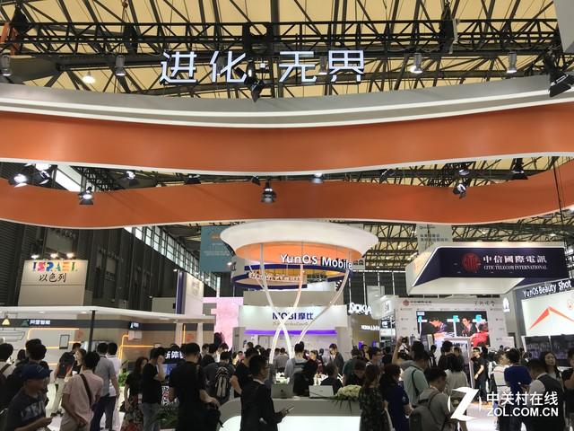 软硬整合 YunOS四大核心亮相MWC上海