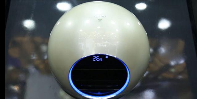 圆形空调你见过吗?美的智能网王IQ100体验