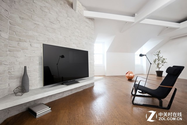没别墅就别看了 索尼100吋电视震撼发布
