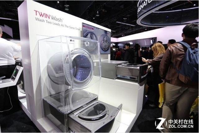 洗衣机居然玩双筒? 2016IFA展会前瞻