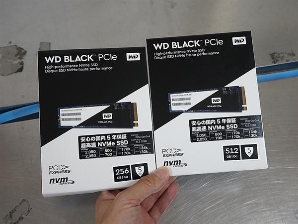 西数首款PCIe M.2黑盘上市:恐怖2050MB