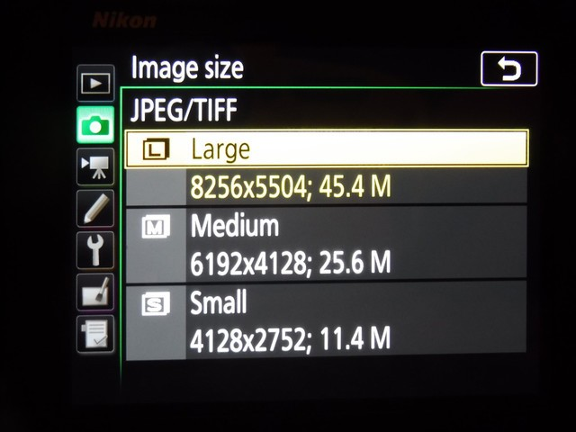 照片尺寸确认 尼康D850真机消息更新