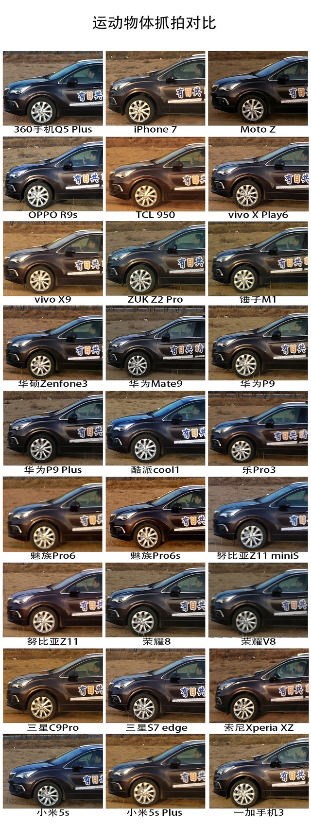 30款手机横评汽车篇(待审核)